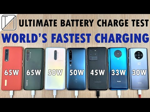 The Fastest Charging Smartphones In The World