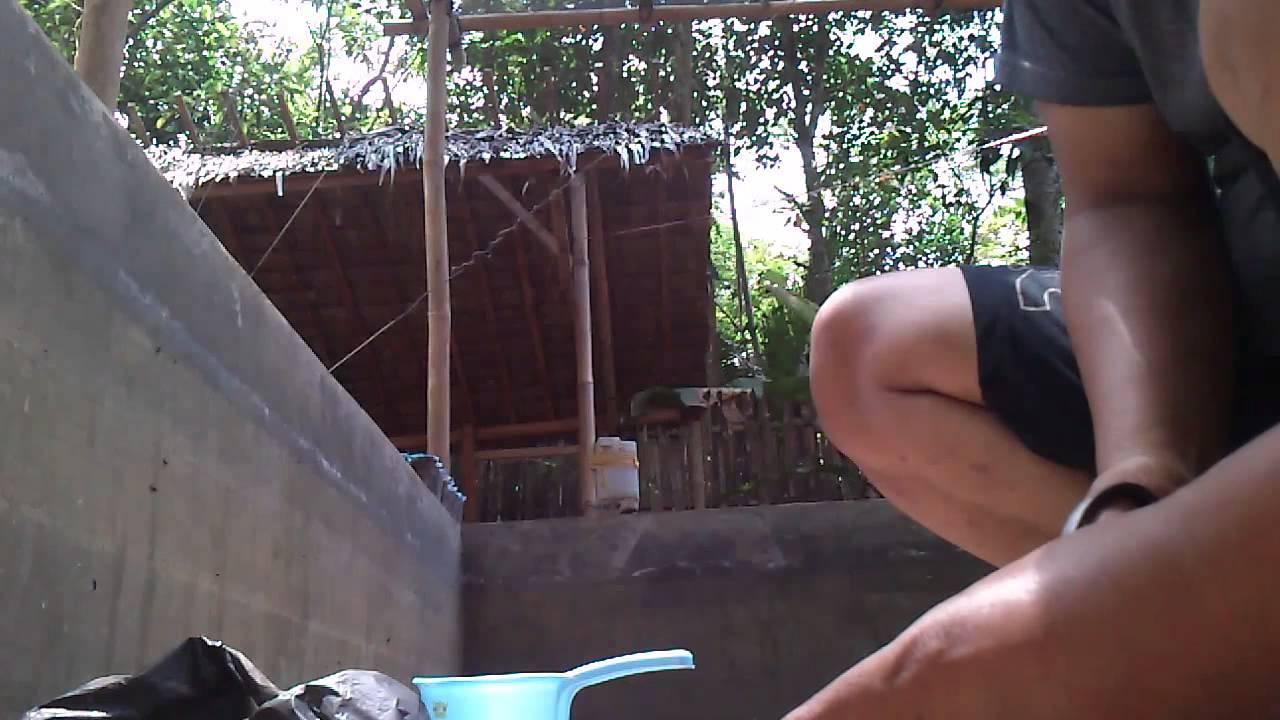 Cara Menambal Kolam Semen Yang Bocor Dengan No Drop Youtube