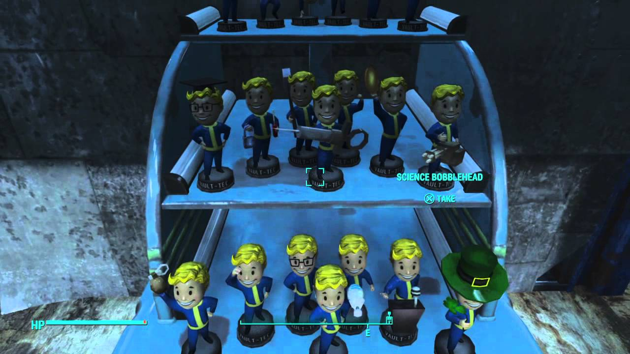 Trade Stands Fallout 4 : Fallout my bobblehead stand youtube