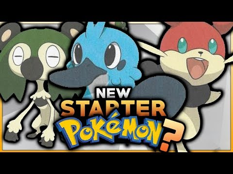 NEW STARTER POKEMON FOR GENERATION 8 REVEALED?! POKEMON SWITCH 2018 RUMOURS!