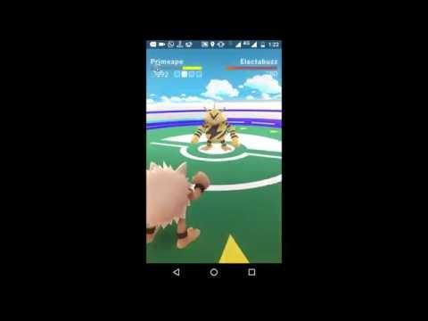 Pokemon Go| India| How to assign pokemon to your gym| Gym Fight | Elctrobuzz Vs Primeape|Episode 2
