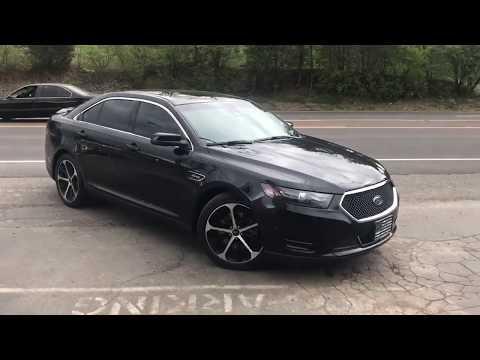 2015 Ford Taurus SHO EXHAUST w/ Muffler Delete