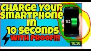 How To Charge Your Android Phone Faster 2017- Youtech
