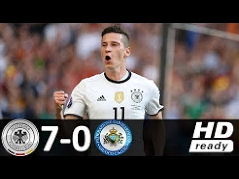 Download Germany vs San Marino 7-0 - Goals and Highlights - World Cup 2018 Qualifiers - 10/06/2017 HD