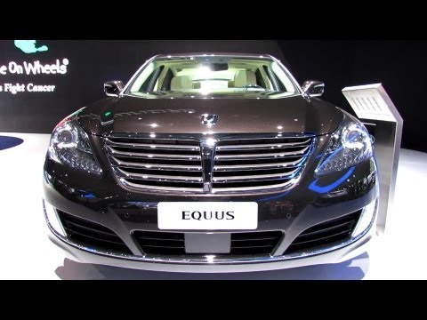 2014 Hyundai Equus Exterior and Interior Walkaround 2013 New York Auto Show