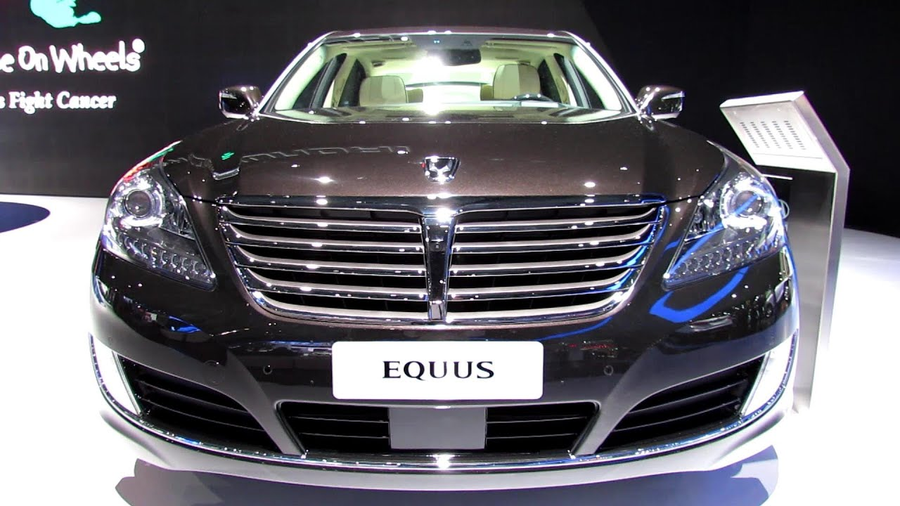2014 Hyundai Equus   Exterior And Interior Walkaround   2013 New York Auto  Show   YouTube
