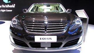 2014 Hyundai Equus Exterior and Interior Walkaround 2013 New York Auto Show