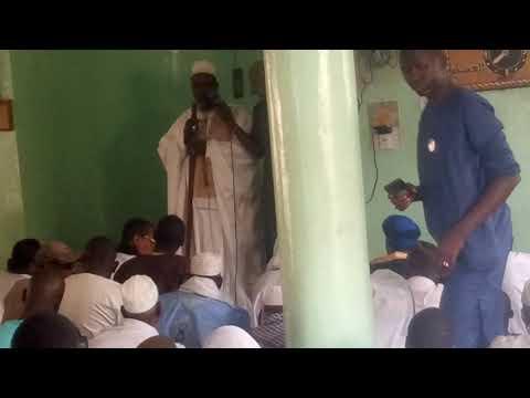 La Cominite chiites de kayes ouverture de Djouma Coutouba de imam Barro
