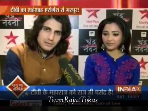 Rajat Tokas - First Interview For Chandra Nandni