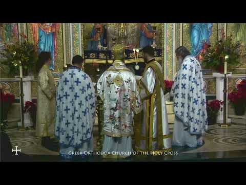 Blessing of the Waters by Metropolitan Nikitas on this Feast of the Theophany Part 1