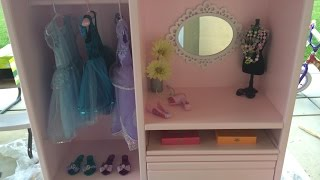 Homemade Entertainment Dressup & Vanity Center