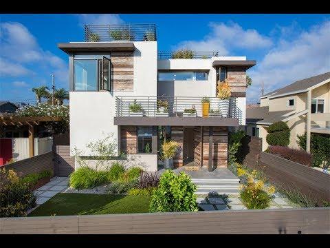 Coastal And Modern Smart Home In Marina Del Rey