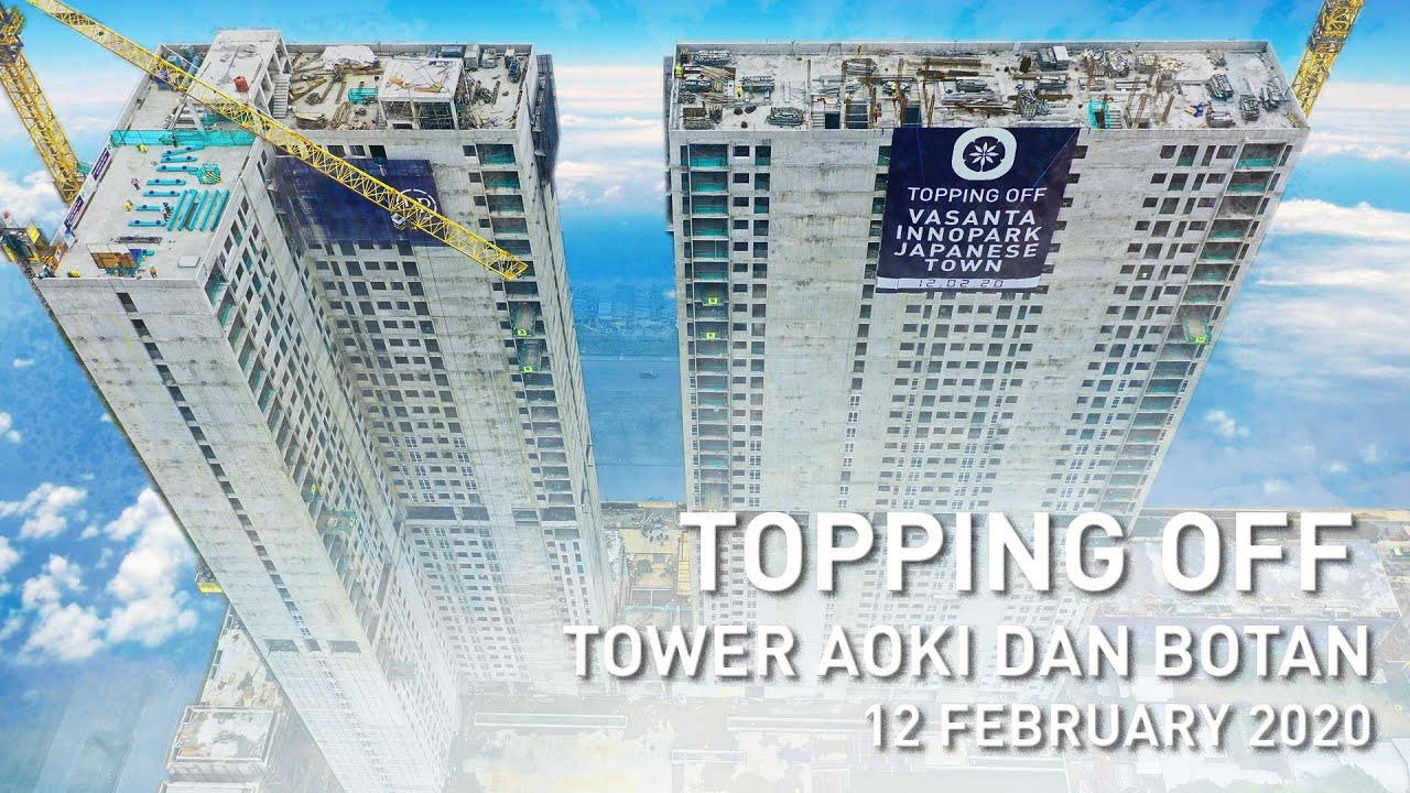 Topping Off Tower Aoki Botan