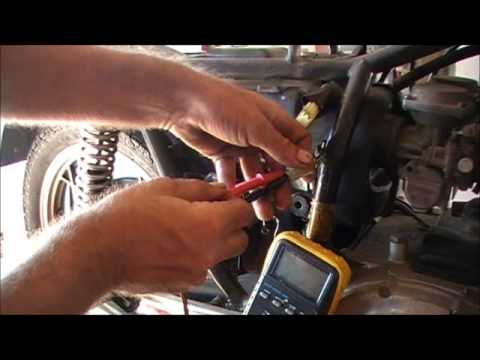 Testing your motorcycles Ignition Pickups YouTube