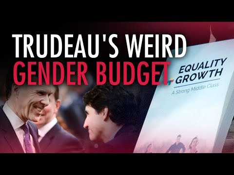 "Trudeau's ""gender budget"" distracts from real economic problems"