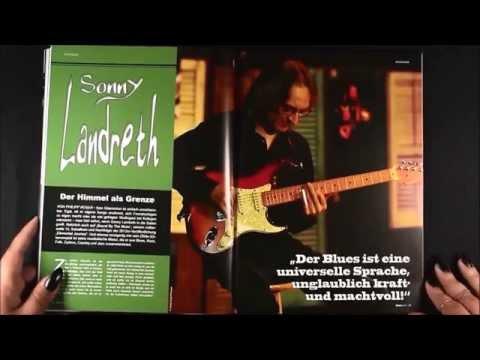 """SONNY LANDRETH """"The Sky As The Limit""""/ """"Der Himmel Als Grenze""""  BluesNews82"""