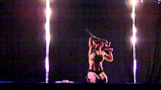 Jamilla Deville's VIP Showcase Performance - Midwest Pole Dance Competition 2013