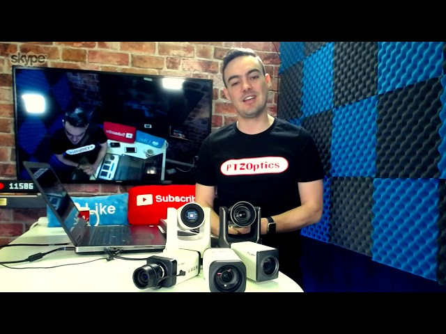 PTZOptics: Antaŭ-NAB Show Video Interview.