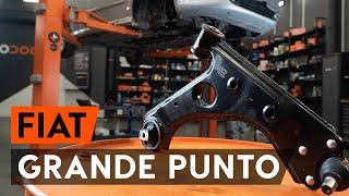 Hoe Axiaal gewricht spoorstang vervangen FIAT GRANDE PUNTO (199) - gratis instructievideo