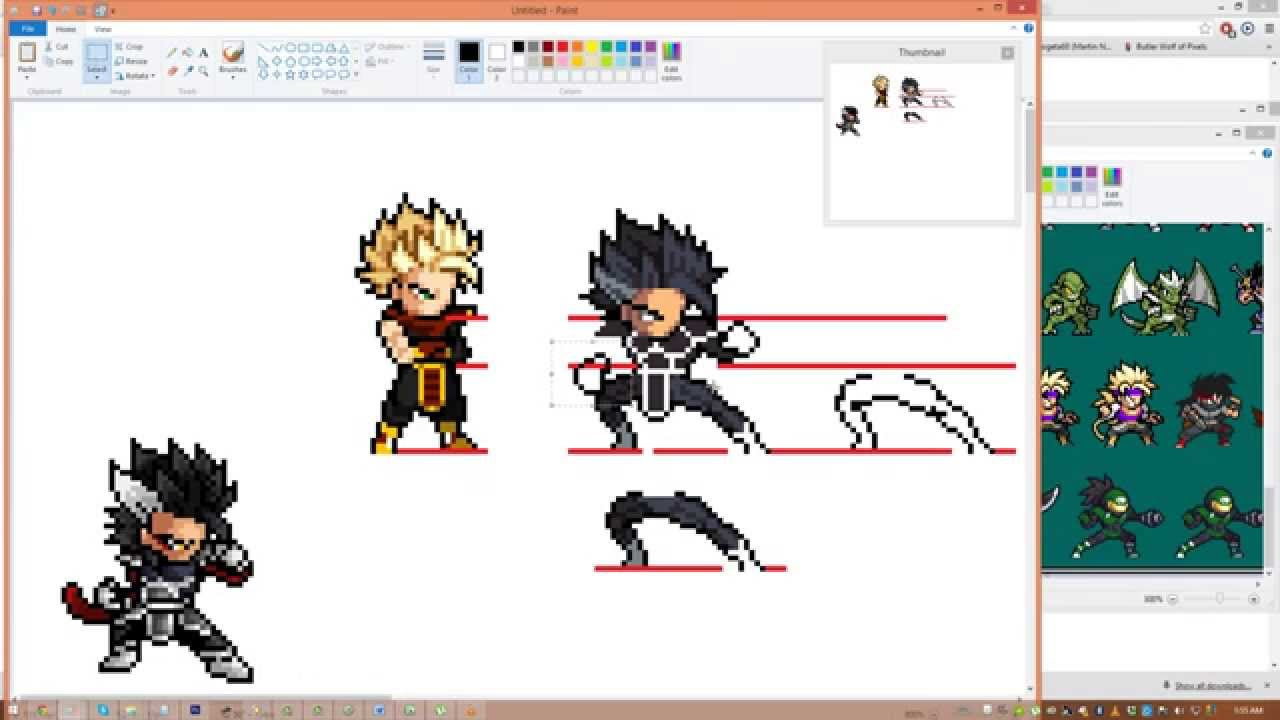 Pixel Character Design Tutorial : Pixel art tutorial how i sprite youtube