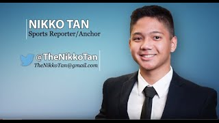 Nikko Tan Sports Reporter/Anchor/Features Demo Reel (May 2016)