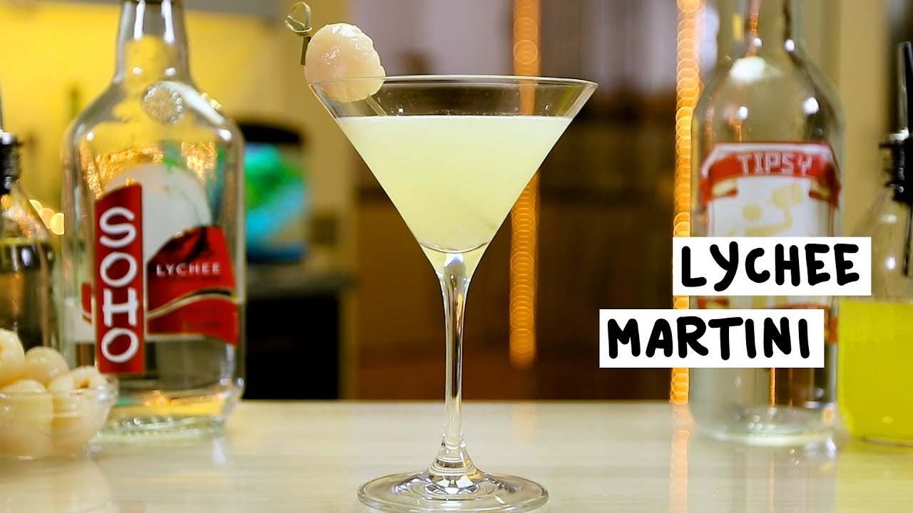 Lychee martini youtube for Cocktail litchi