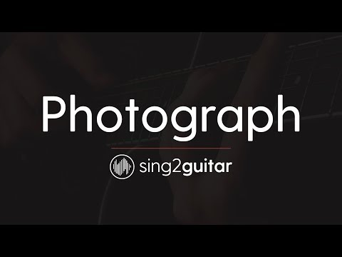 Photograph (Acoustic Guitar Karaoke Instrumental) Ed Sheeran