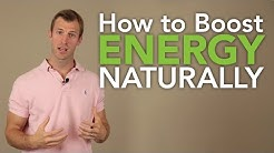 How to Boost Energy Naturally - The 5 Best Natural Energy Boosting Foods