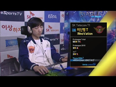 [SPL2015] INnoVation(SKT) vs Flash(KT) Set2 Deadwing -EsportsTV, Starcraft 2