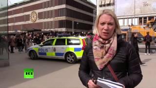Теракт в Стокгольме: люди приходят в себя после атаки