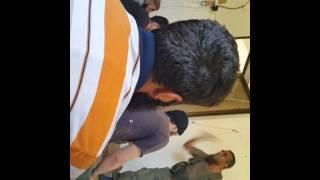 بالفيديو.. قاتل فرج فودة يخطب في جهاديي حلب