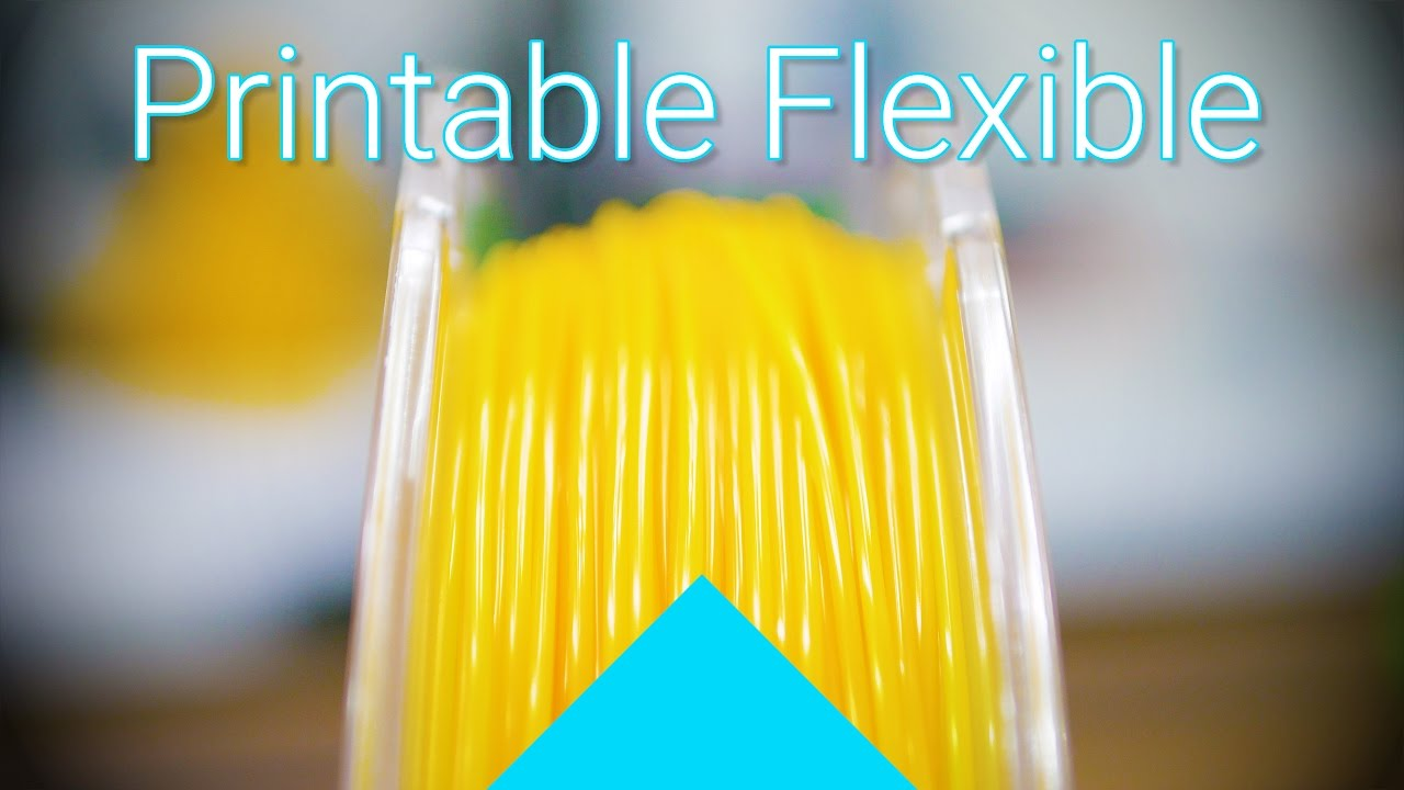 Actually usable flexible filament: Polymaker Polyflex review! #Filaween