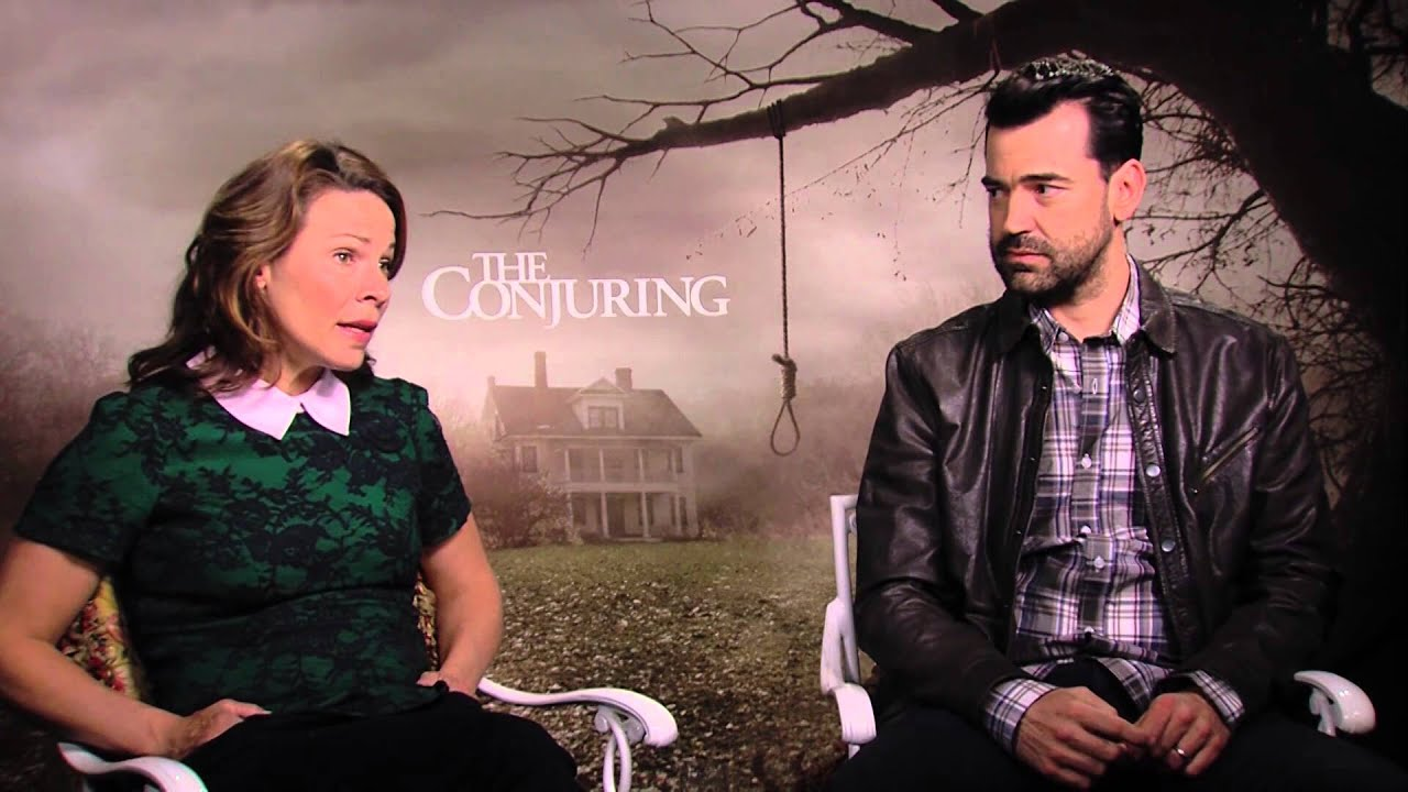 "The Rockman Review ""The Conjuring"" with Ron Livingston & Lili Taylor"