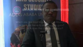 Exclusive Interview with Anzian Kouadja, Small Arms Commission, Cote d'Ivoire