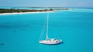 Sailing Bahamas, Sailing Exuma - Norman's Cay & Shroud Cay - HR54 Cloudy Bay - Jan'20. S20 Ep6