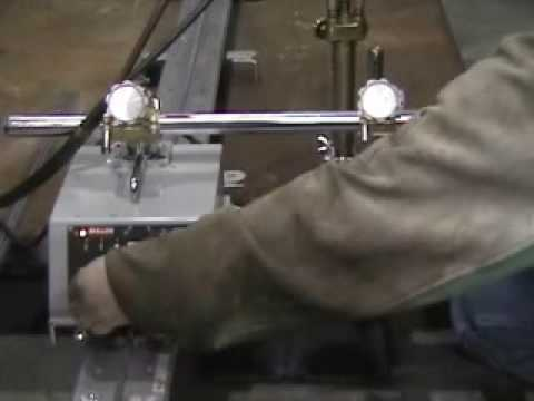 Automated Flame Cutting Carriage - Oxy Acetylene Cutting - K