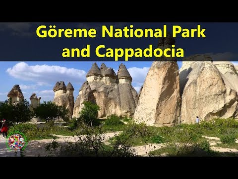 Best Tourist Attractions To Travel In Turkey | Göreme National Park & The Rock Sites of Cappadocia