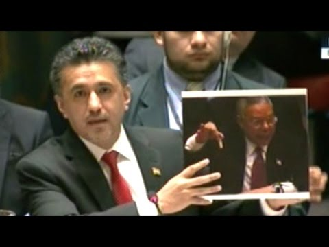 Bolivian Ambassador Remembers The U.S. Saying Iraq Had Chemical Weapons!