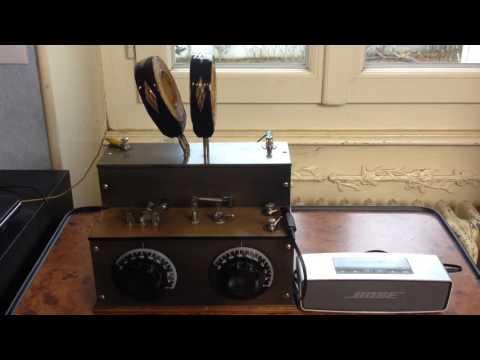 France Inter 162 kHz / Poste à galène Duvivier