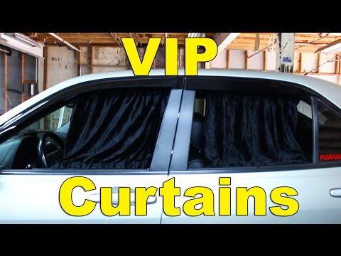 Ballin on a Budget VIP Window Curtains | Altezza IS300 GS300 Luxury