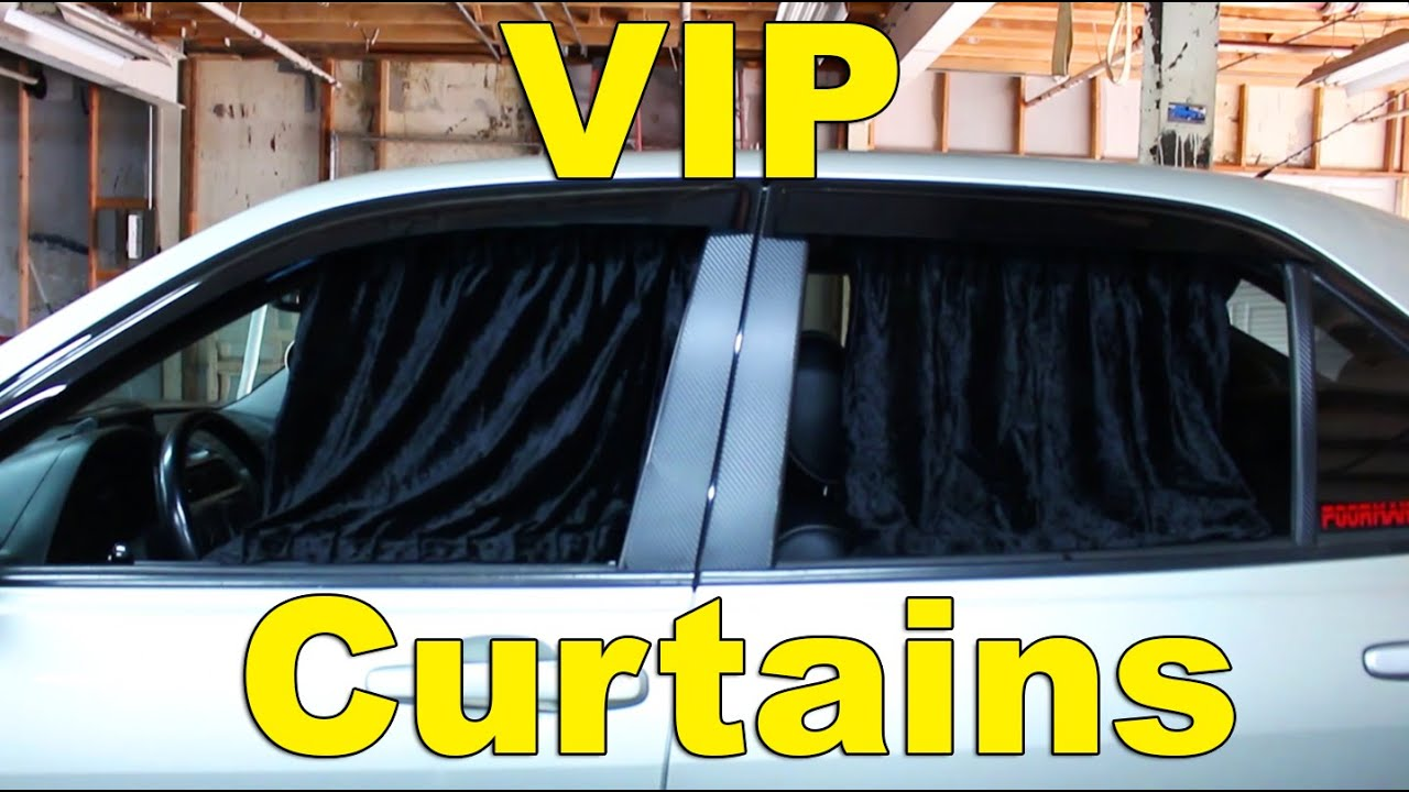 Ballin On A Budget Vip Window Curtains Altezza Is300 Gs300 Luxury