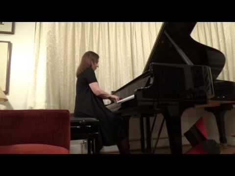 Clelia Iruzun at Home - Albeniz -Granada from Spanish Suite