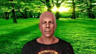 """Создание 3D модели по фотографии в CrazyTalk 8 и iclone 6. """"Bruce Willis"""""""