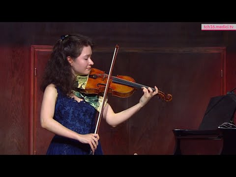 Paganini: Caprice No.23   Anna Savkina, Violin      파가니니 카프리스 23 바이올린         パガニーニ カプリース 23