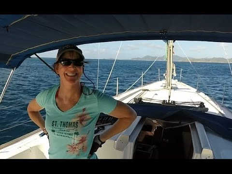 Ep 1 BVI Bareboat Charter 2015 Charlotte Amalie & Norman Island