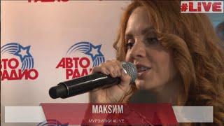 МакSим на Авторадио. Живой концерт (Эфир от 14.04.15)