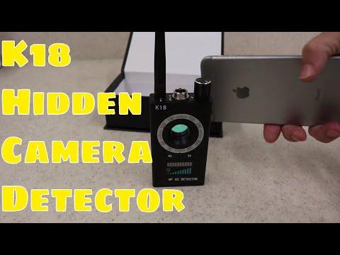 Testing The K18 Hidden Camera Detector