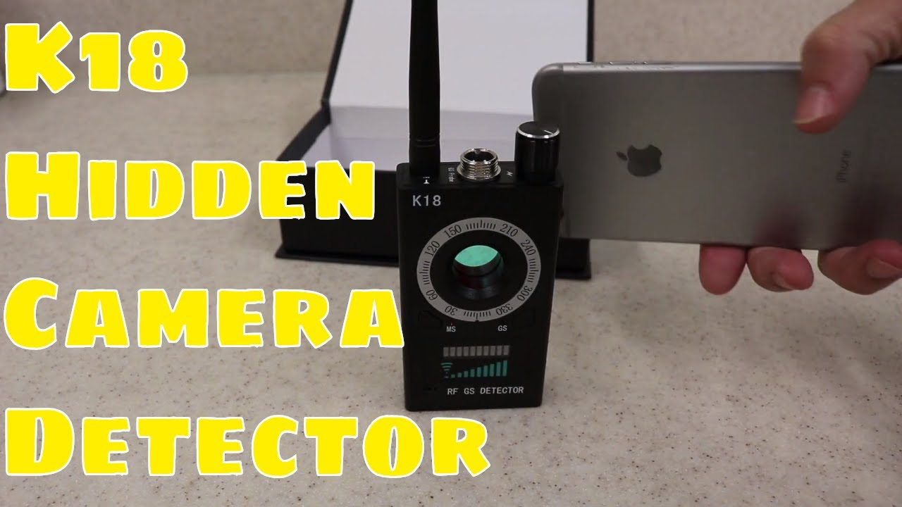 Testing the K18 hidden camera detector