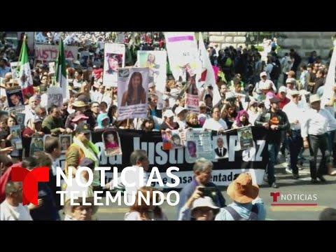 Culminan la Marcha por la Paz en México tras cuatro días exigiendo el fin de la violencia
