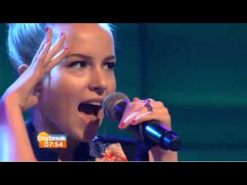 Bridgit Mendler Live Performance (Hurricane)